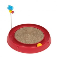 Catit Play Circ. Ball W. Scratch Pad