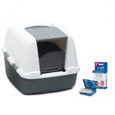 Catit Magic Blue Litter Box Jumbo 57x46,5x43 cm