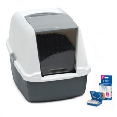 Catit Magıc Blue Litter Box Regular 53x44x36 cm