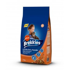 BREKKİES EXCEL CAT MIX CHICKEN 1.5  KG