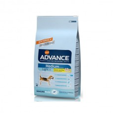 Advance Orta Irk Light Köpek Maması 12 Kg