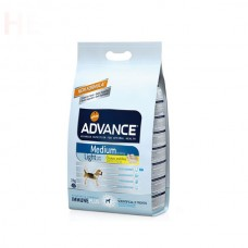 Advance Orta Irk Light Köpek Maması 3 Kg