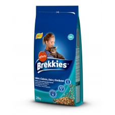 BREKKİES EXCEL CAT MIX FISH 20 KG